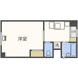 スチューデントハイム札幌大通[10階]の間取り
