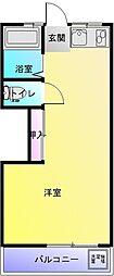 グランキューブ[4階]の間取り
