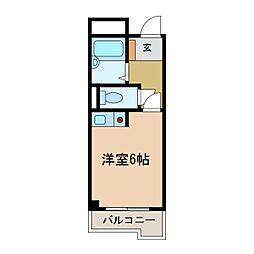 アールスコート[2階]の間取り