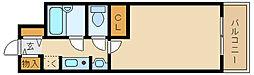 ステラハウス9[1階]の間取り