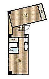 ナカハラハウス[4階]の間取り