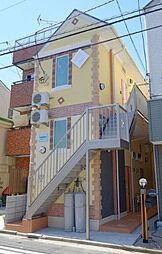 神奈川県横浜市鶴見区寛政町の賃貸アパートの外観