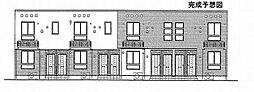 トライブC[202号室]の外観