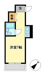 Progress錦(プログレス)[7階]の間取り