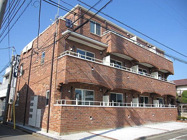 東京都立川市富士見町2丁目の賃貸アパートの外観