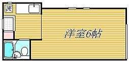 Flat Maikeru[1階]の間取り