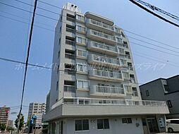 北海道札幌市東区北三十二条東12丁目の賃貸マンションの外観
