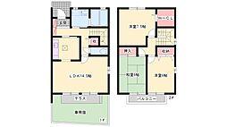 [テラスハウス] 兵庫県三木市緑が丘町西5丁目 の賃貸【/】の間取り
