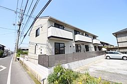 岡山県岡山市南区芳泉4丁目の賃貸アパートの外観
