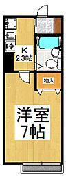 エントピア新秋津[2階]の間取り
