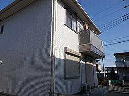 シャルマンC・D[2階]の外観