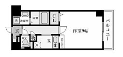 エトールX[6階]の間取り