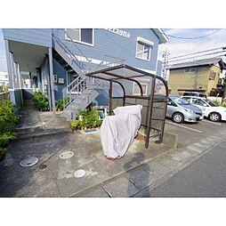 静岡県静岡市清水区下野中の賃貸アパートの外観