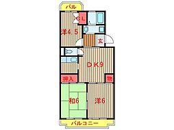 ビューコート習志野台 (0043)[3階]の間取り