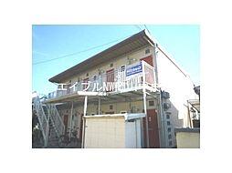 岡山県岡山市北区三野3丁目の賃貸アパートの外観