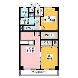 グッドウィルID[1階]の間取り