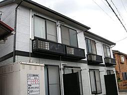 愛知県名古屋市守山区廿軒家の賃貸アパートの外観