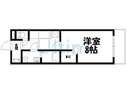 UniE''terna京都壬生[6階]の間取り
