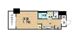 レオンヴァリエ福島野田[1階]の間取り