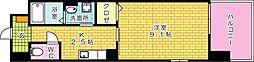 広島県広島市中区光南4丁目の賃貸マンションの間取り