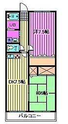 メゾンレジェ[2階]の間取り