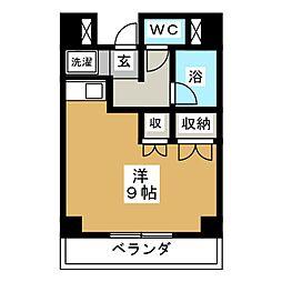 メイゾン西多賀[3階]の間取り