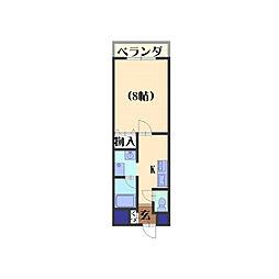 アルファプライズVII[202号室]の間取り