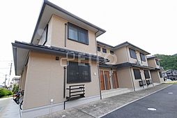 京都府京都市左京区岩倉村松町の賃貸アパートの外観