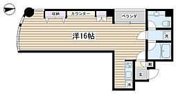 ロイヤルクレスト[3階]の間取り