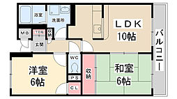 ローズマンション[108号室]の間取り