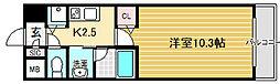 ドゥーロ北長尾[2階]の間取り