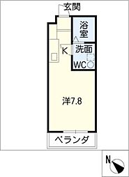 270 apartment1[3階]の間取り