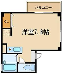 兵庫県伊丹市行基町1丁目の賃貸マンションの間取り