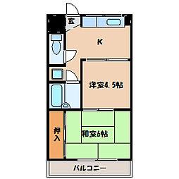 A.P KOHATA[1階]の間取り