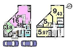 桜井駅まで徒歩8分。買い物・病院・幼稚園が徒歩圏内の便利な立地です。
