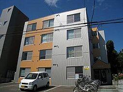 北海道札幌市清田区清田三条1丁目の賃貸マンションの外観
