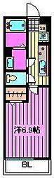リブリ・ロッソ[3階]の間取り