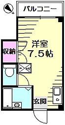 パークハイツヤマガタ[4階]の間取り