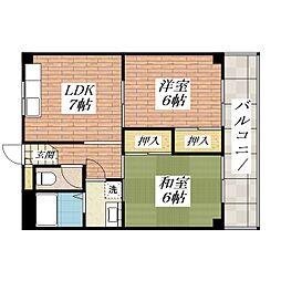 TADマンション[3階]の間取り