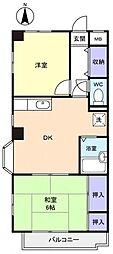 八千代台パーソナルハウスPart5[2階]の間取り