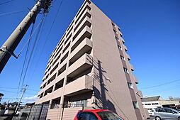 栃木県宇都宮市台新田町の賃貸マンションの外観