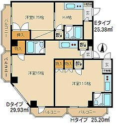 早稲田マンション[5階]の間取り