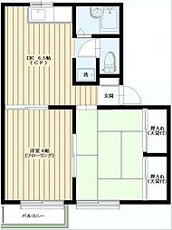 メゾン・ド・ジロー[2階]の間取り