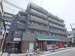東京都新宿区西五軒町の賃貸マンションの外観