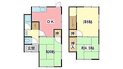 [一戸建] 兵庫県姫路市西庄 の賃貸【兵庫県 / 姫路市】の間取り