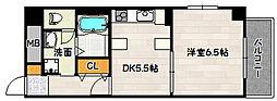 兵庫県神戸市兵庫区兵庫町1丁目の賃貸マンションの間取り