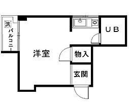 東京都新宿区新宿5丁目の賃貸マンションの間取り