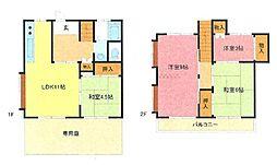 [テラスハウス] 埼玉県さいたま市南区太田窪2丁目 の賃貸【/】の間取り