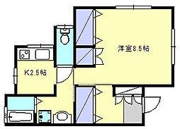 [テラスハウス] 神奈川県鎌倉市関谷 の賃貸【神奈川県 / 鎌倉市】の間取り