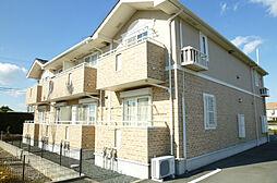 静岡県磐田市大原の賃貸アパートの外観
